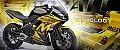 Bateria Motobatt Mbtx14au Yb14a2 Honda CBX 750F 7 Sete Galo - Imagem 7