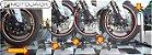 Trava de Roda Motojack Chão Transporte Moto Carretinha - Imagem 6