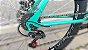 Bicicleta SOUTH 29 Verde Turquesa Disco Quadro 18 aço - Imagem 3