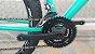 Bicicleta SOUTH 29 Verde Turquesa Disco Quadro 18 aço - Imagem 2