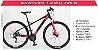 Bicicleta Elleven Belle Preto/Vermelho LANÇAMENTO  - Imagem 2