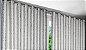 Cortina Blackout de Tecido Elegance 400x230 Jacquard Prata - Izaltex - Imagem 2