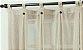 Cortina de Cozinha Linho Com Botão 260x150 Cor 003 - Tularte - Imagem 2