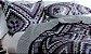 Kit Colcha Patchwork Queen 3 Peças Bouti Ultrasonic Ravena D - Rozac - Imagem 2