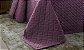 Kit Colcha Casal 3 Peças Ultrasonic Madri 3D Geométrica Violeta + Lavanda - Rozac - Imagem 3