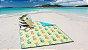 Esteira de Praia e Piquenique Dobrável Dupla Face Abacaxi - Corttex - Imagem 1