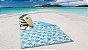 Esteira de Praia e Piquenique Dobrável Dupla Face Palmeira - Corttex - Imagem 1