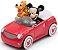Tapete de Brincar Disney 66x100 Corrida do Mickey + Brinquedo - Corttex - Imagem 3