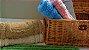 Kit Com 6 Tapetes Indianos Algodão Malibu 45x70 Azul - Rozac - Imagem 3