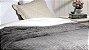 Cobertor Soft Flannel Com Sherpa Vermont Queen Grafite - Rozac - Imagem 2
