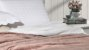 Cobertor Soft Flannel Com Sherpa Vermont Queen Rosê - Rozac - Imagem 2