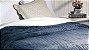 Cobertor Soft Flannel Com Sherpa Vermont Queen Azul - Rozac - Imagem 2