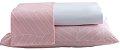 Jogo de Lençol Queen 4 Peças Percal de Microfibra 240 Fios Premium G - Rozac - Imagem 1