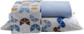 Jogo de Lençol Queen 4 Peças Percal de Microfibra 240 Fios Premium A - Rozac - Imagem 1