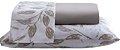 Jogo de Lençol Casal 4 Peças Percal de Microfibra 240 Fios Premium E - Rozac - Imagem 1