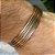 Bracelete Masculino Metal (Cor Cobre) - 4MEN (Ajustável) - Imagem 1