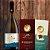 Combo = 1 Vinho fino branco Charonnay + 1 Barra Chocolate Belga ao Leite + 1 Barra Branca c/ Cookies  - Imagem 1
