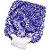 Luva Super de Microfibra Tornado Azul Mandala - Imagem 1