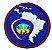 EMBLEMAS AVENTUREIRO - A4 A3 SOBRE GLOBO - Imagem 1