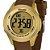 Relógio Feminino  Marrom e Dourado Digital X-Games Original - Imagem 3
