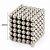 Neocubo Imã de Neodímio Ø 3MM - 216 Esferas - Prata - Neocube - Imagem 5