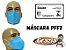 Máscara respiratória PFF2 sem válvula - Grazia - Imagem 5