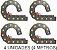 kit 4 Esteira Porta Cabo 100x55mm H55 - Imagem 1