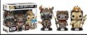 Funko Pop - 3 Pack Star Wars: Teebo, Cheif Chippa E Logray (Exclusivo Walmart) - Imagem 1
