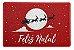 Capacho: Feliz Natal - 60x40cm - Imagem 1