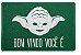 Capacho: Yoda - 60x40cm - Imagem 1