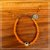 Pulseira Olho Grego laranja - Imagem 1