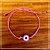 Pulseira Olho Grego Rosa - Imagem 1