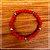 Pulseira Bolinhas vermelha - Imagem 1