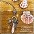 Colar longo quartzo rosa - Imagem 1