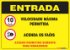 PLACA ENTRADA - AVISO AOS USUÁRIOS - Imagem 1