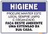 Placa Higiene PLH-001 - Imagem 1