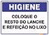 Placa Higiene PLH-002 - Imagem 1