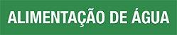Marcador de tubulação - MCT-018 Indicador de Fluxo - Pacote com 05 unidades. - Imagem 1