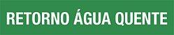 MARCADOR DE TUBULAÇÃO E VÁLVULAS - TAM. 20X4 CM - PCT 05 UNIDADES  - Imagem 1