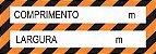 Faixa Refletiva Advertência - Comprimento e Largura - Imagem 2