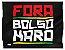 Bandeira Fora Bolsonaro (95cm x 70cm) - Imagem 1