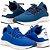 Kit 2 Pares de Tênis Polo Joy Esporte Nylon Marinho e Azul - Imagem 1