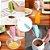Mini Mixer Misturador Bebida Eletrico Pilha Café Espuma de Leite Capuccino Portatil Cozinha - Imagem 2