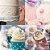 Kit Bico de Confeitar 12 Peças Aço Inox Decoração Bolo Cupcake Doces Biscoito Confeitaria - Imagem 2