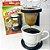 Kit Mini Coador de Café Individual 2 Filtro Pano Malha Algodao Expresso - Imagem 2