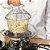 Cesta Multiuso com Alça para Cozinha em Aço - Imagem 2