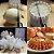Suporte Para Fatiar Cebolas Formato Outback Blooming Onion - Branco - Imagem 2