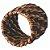 Conjunto com 6 Anéis Para Guardanapo em Rattan Bambu Rústico - Marrom - 5CM  - Imagem 2