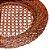 Sousplat Redondo em Rattan Bon Gourmet Com Fundo Tela 32cm Rústico Premium - Imagem 1
