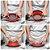 Escorredor Dobrável de Alimentos em Silicone Vermelho 30 cm Retrátil  - Imagem 1